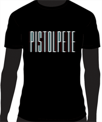 Picture of Pistol Pete #23 Black T-Shirt floppy socks design