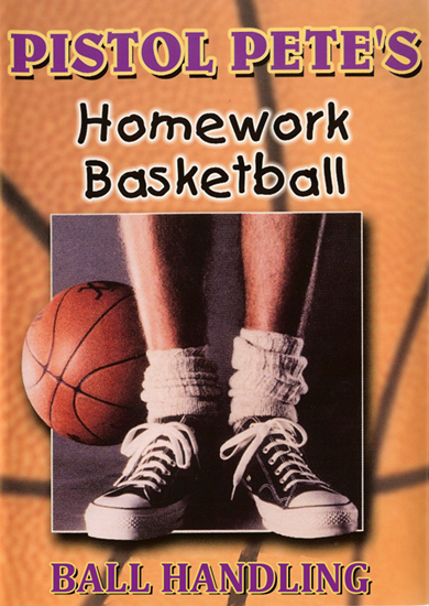 Picture of Pistol Pete's Homework Basketball - Ball Handling