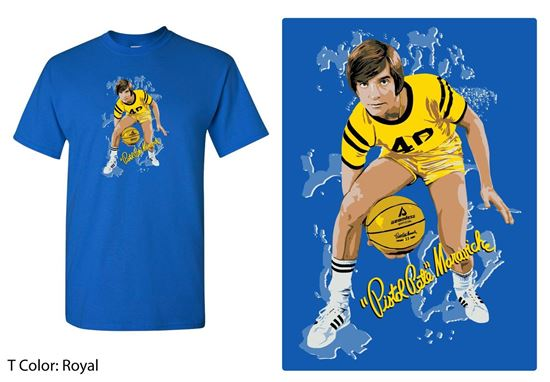 Picture of Pistol Pete Royal Blue Pose T-Shirt
